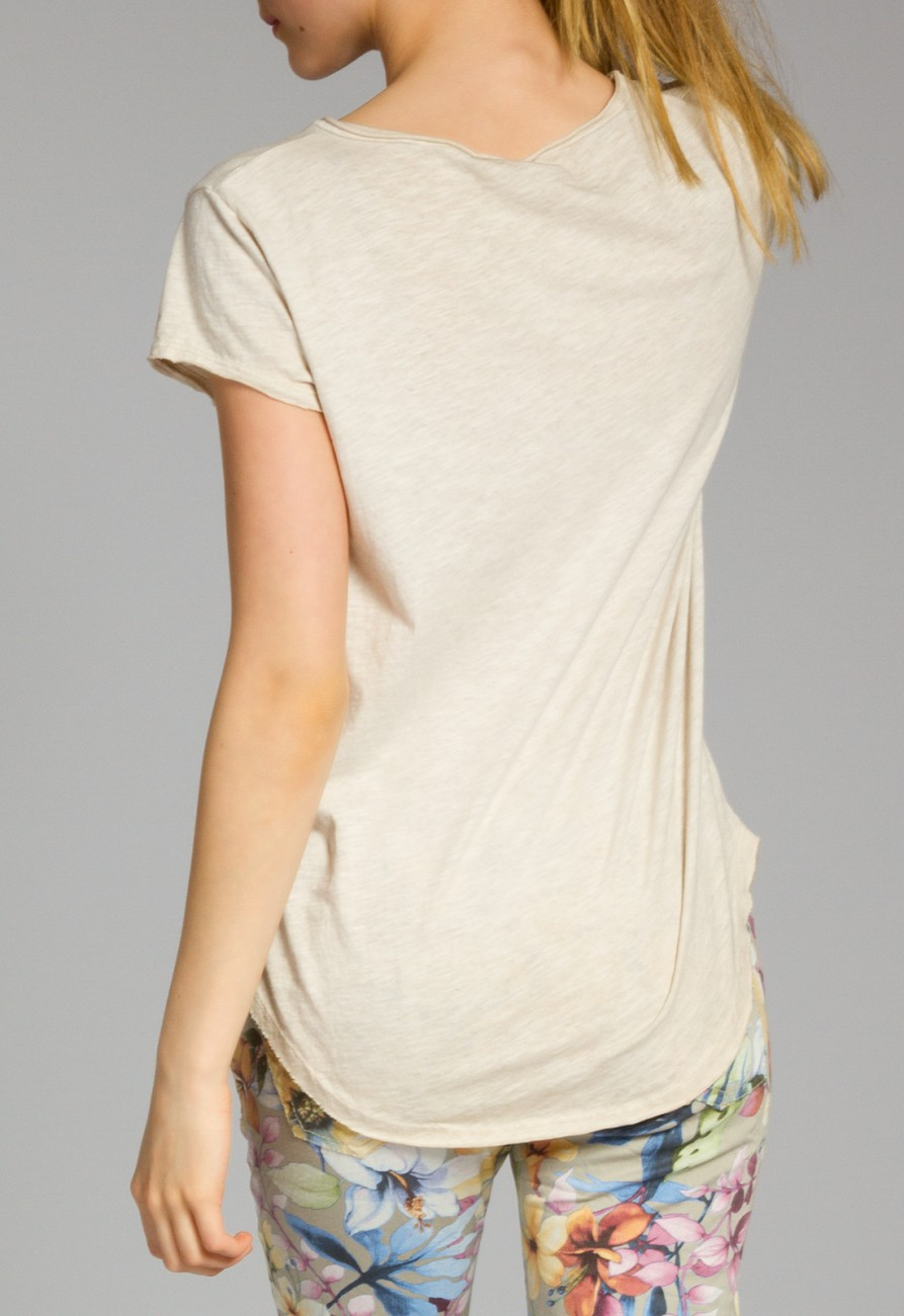 caspar srt016 damen baumwoll shirt bekleidung shirts tops t shirts. Black Bedroom Furniture Sets. Home Design Ideas