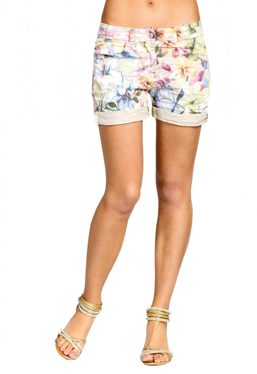 caspar bst003 damen kurze shorts bekleidung hosen shorts. Black Bedroom Furniture Sets. Home Design Ideas