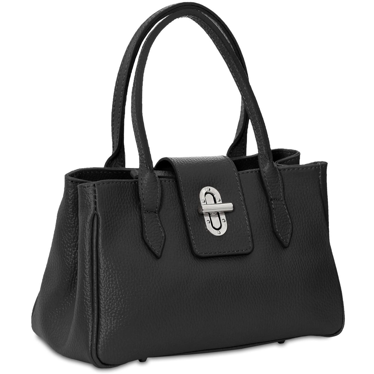 caspar damen kleine leder tasche handtasche. Black Bedroom Furniture Sets. Home Design Ideas