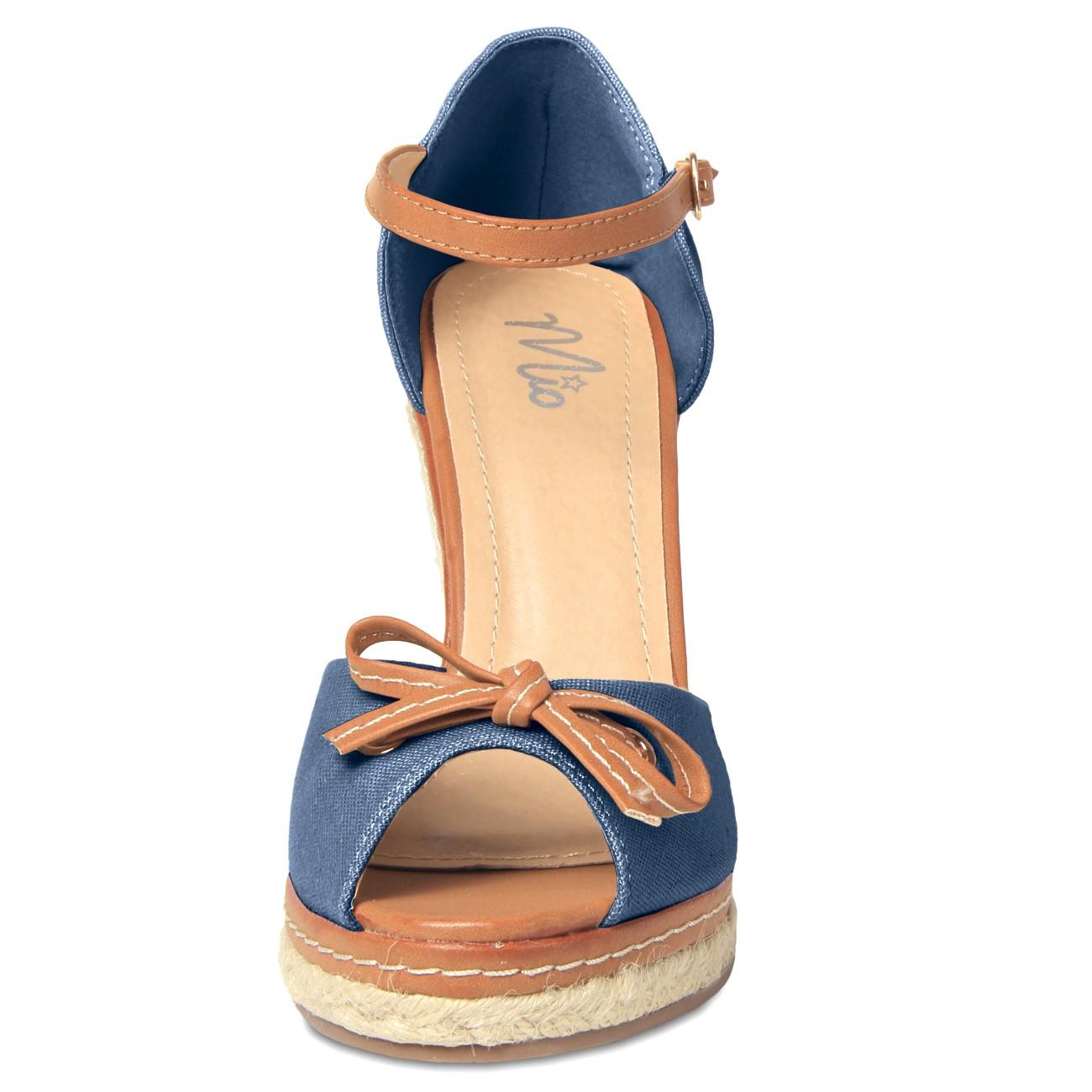 caspar damen schuhe sandalen peep toe mit riemchen und. Black Bedroom Furniture Sets. Home Design Ideas