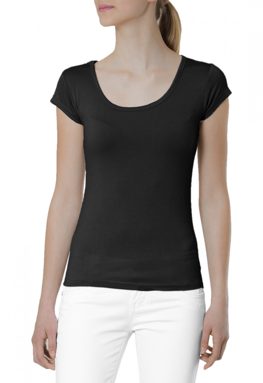 caspar damen klassisch elegantes basic kurzarm shirt t shirt top unifarben stretch viele. Black Bedroom Furniture Sets. Home Design Ideas