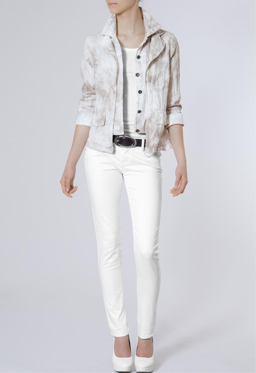 caspar damen kurze leichte sommer jacke blazer aus 100. Black Bedroom Furniture Sets. Home Design Ideas