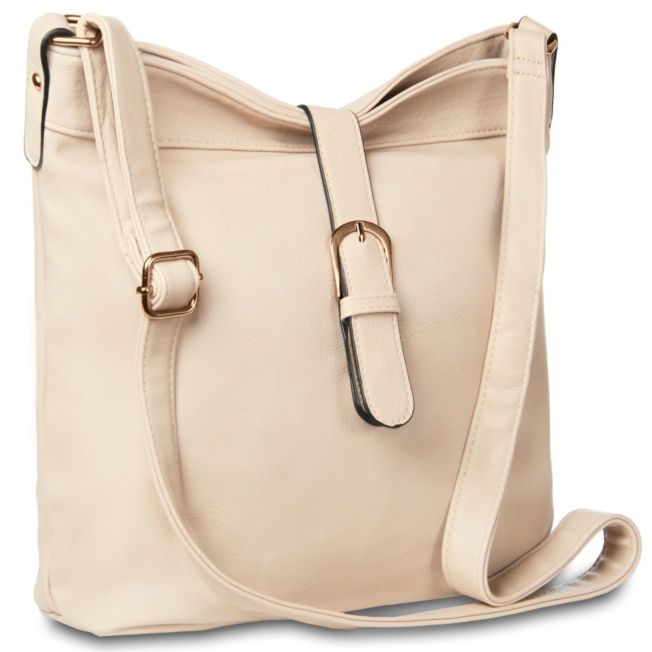 caspar damen sportlich elegante umh ngetasche handtasche. Black Bedroom Furniture Sets. Home Design Ideas