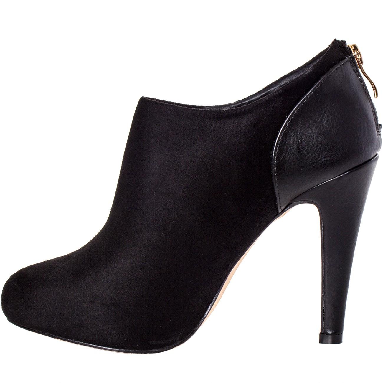 caspar damen ankle boots stiefeletten low boots mit. Black Bedroom Furniture Sets. Home Design Ideas