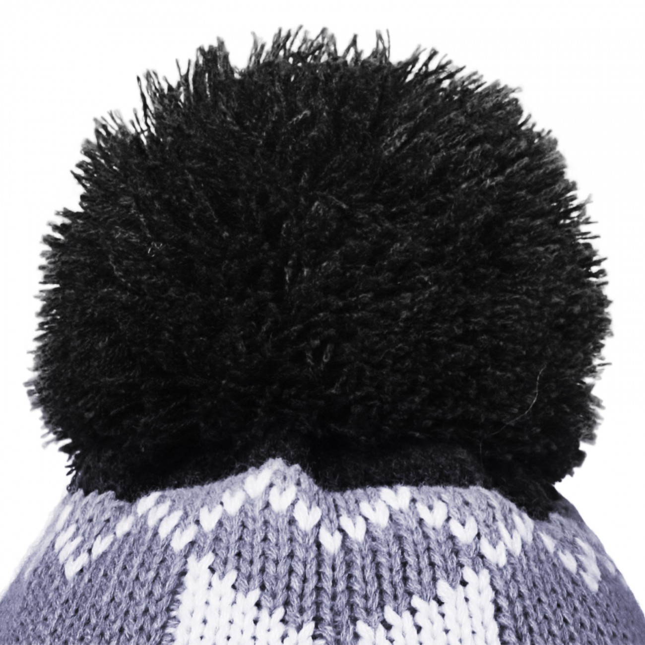 Knitting Pattern For Womens Bobble Hat : CASPAR Womens Winter Knitted Ski Hat Chunky Bobble with Pattern - many colour...