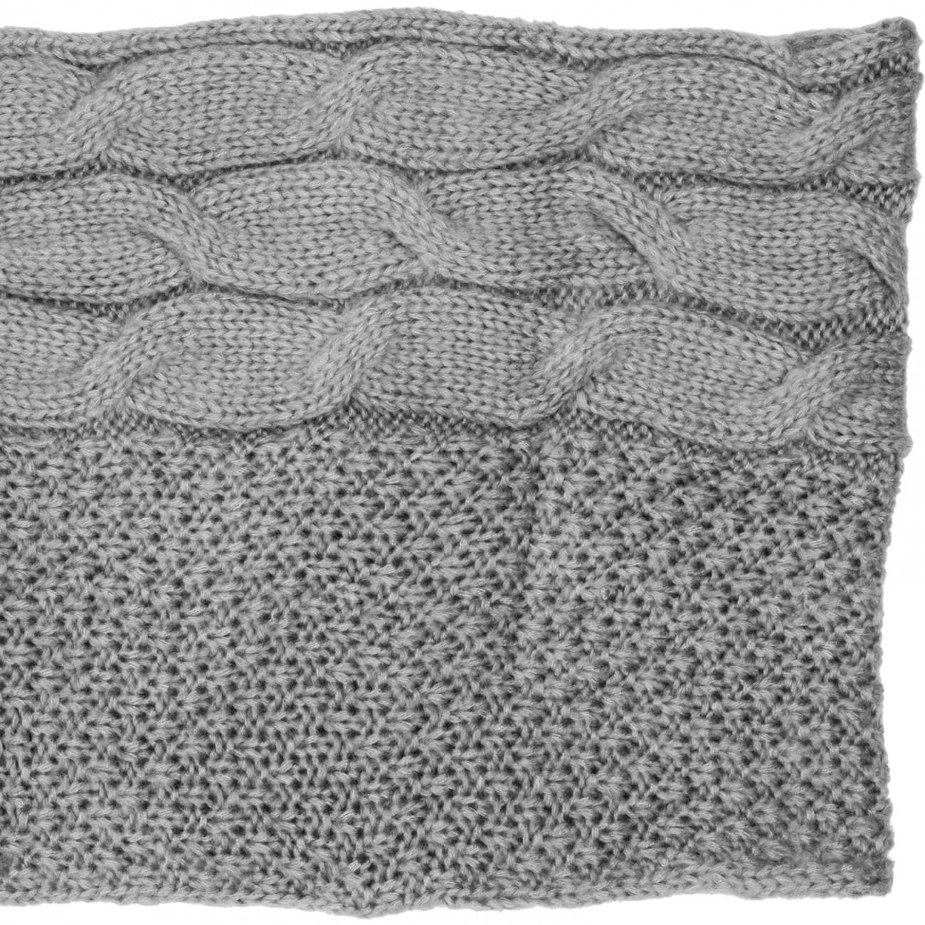 Knitted Snood Pattern : CASPAR Womens Warm Knitted Loop Scarf / Snood / Cowl with Cable Stitch Patter...