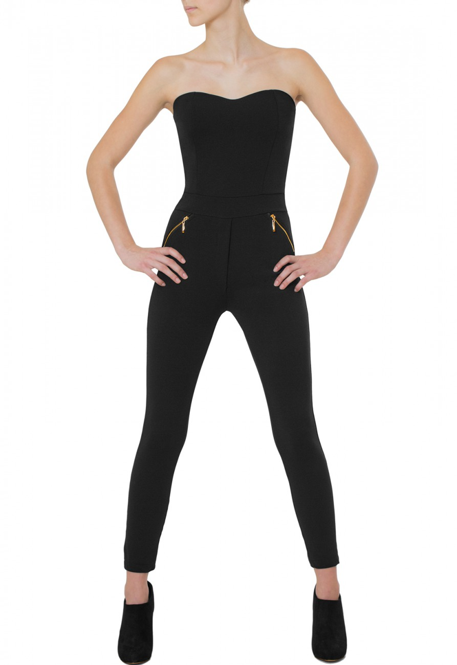 caspar damen jumpsuit catsuit overall one piece. Black Bedroom Furniture Sets. Home Design Ideas